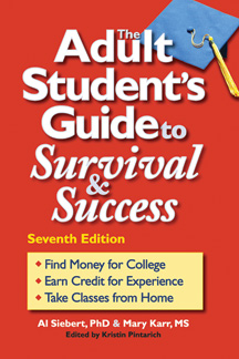 Adult Student's Guide to Surivial and Success, 7th Edition, cover graphic